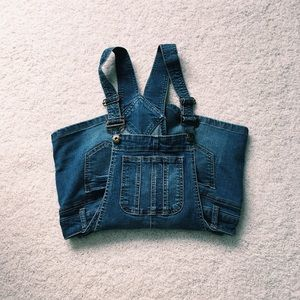 blue spice overalls